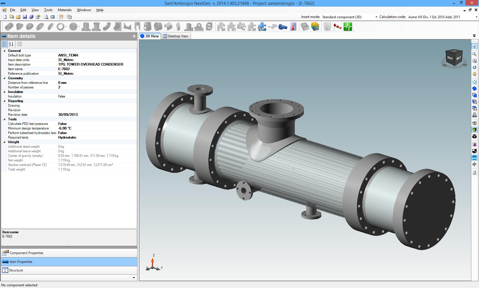 NextGen software for pressure vessel and heat exchanger design