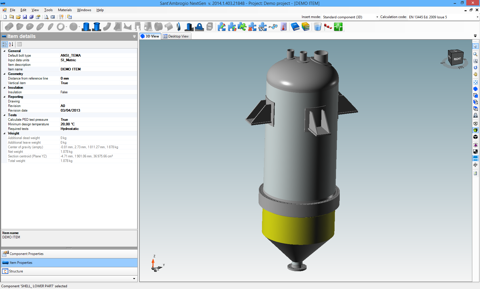 NextGen software for pressure vessel and heat exchanger design
